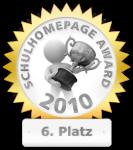 Schulhomepage-AWARD 2010 Platz 6