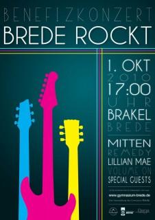 Eine Veranstaltung des Gymnasiums Brede Brakel mit freundlicher Unterstützung des Kulturring Brakel e.V. und der Initiative Rockwärts Brakel