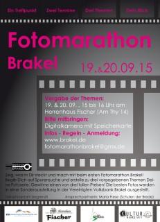 Foto marathon flyer