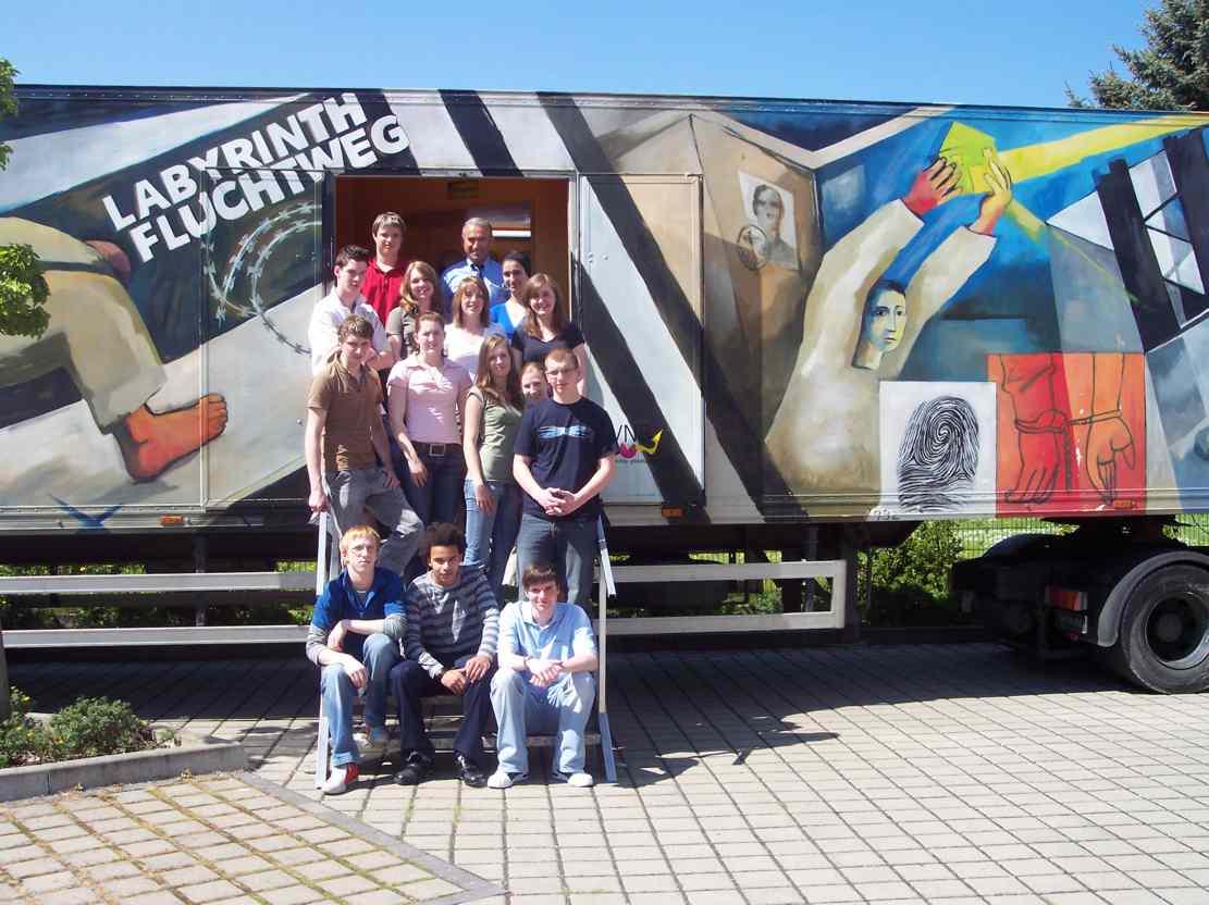 Fluchtwege-Truck